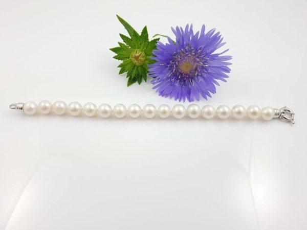 armband van 10mm ronde parels