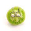 afhangende zilveren oorbellen met echte parels, zoetwaterparels.