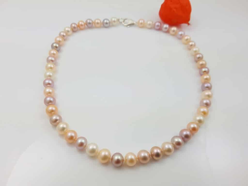 pareljuwelen ambachtelijk gemaakt multicolour parel halsketting