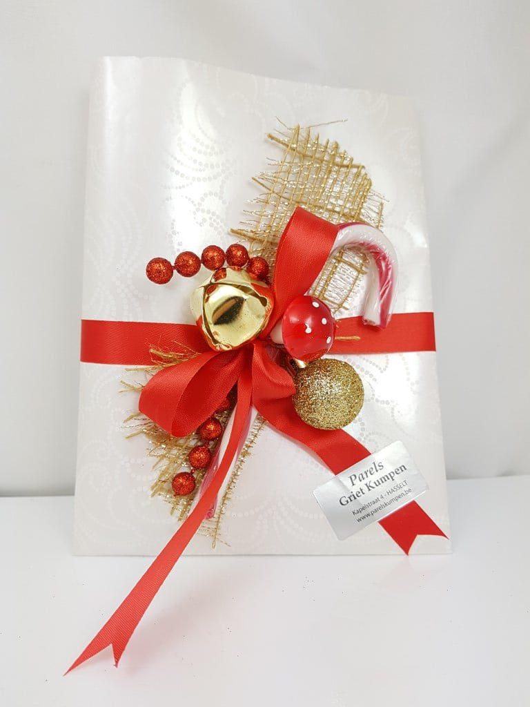pakjes voor de kerst