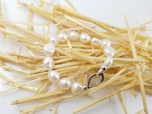 armband van barokke parels