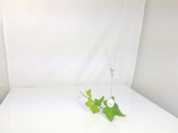 zilveren ketting met hanger in zilver