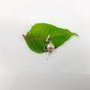 hanger van zilver met roze parel