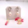 oorbellen met echte parels