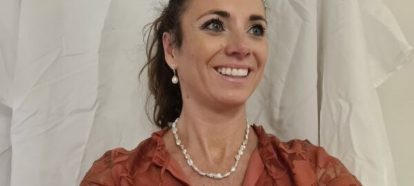 Halsketting van keshi parels